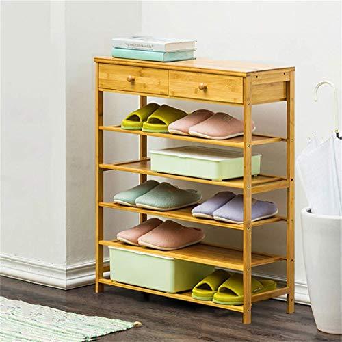 25 cm breed multifunctioneel bamboerek met staand opbergvak, perfect voor de opbergkast in de slaapkamer voor huishouddeuren. 70x25x90cm