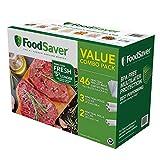 FoodSaver Bag Combo Rolls & Precut Bags in 1 Pack