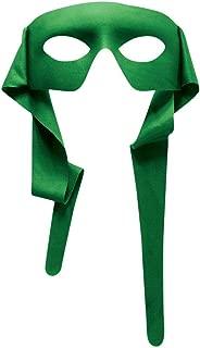 Forum Novelties Mens Green Masked Man with Ties Venetian Mardi Gras Mask Costume Accessory