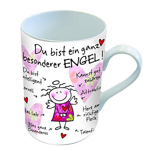 PPD Porzellan Henkelbecher Tasse Du bist ein ganz besonderer Engel