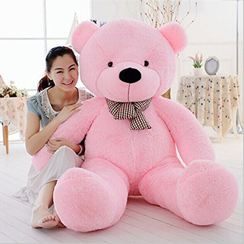 MorisMos Pink Giant Cute Soft Toys Teddy Bear for Girlfriend Kids Teddy Bear