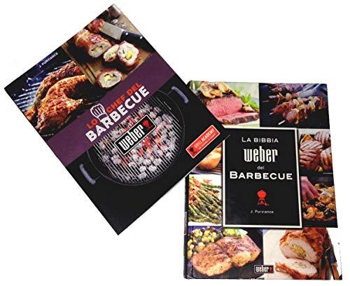 Weber Juego de 2 libros de cocina Chef de la barbacoa + La Biblia