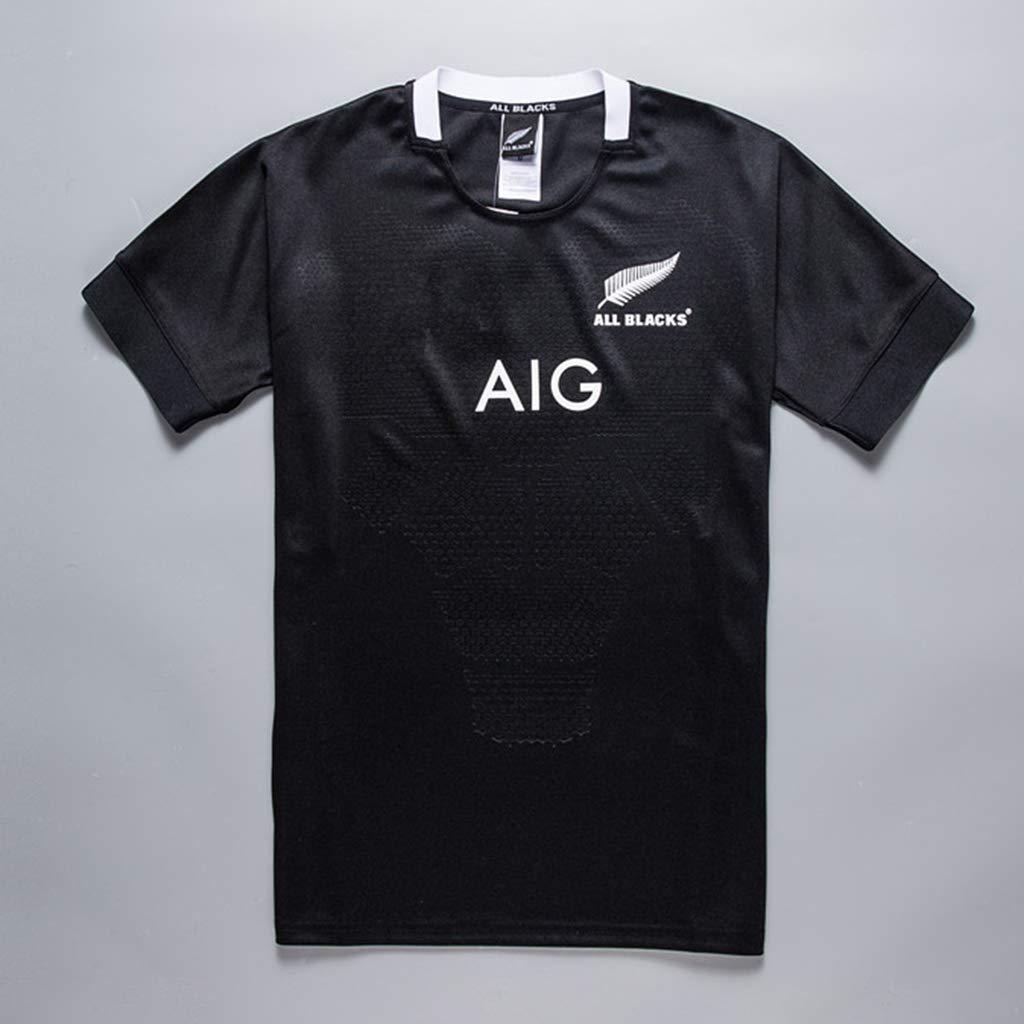 K-Flame Camisa de Rugby de All Blacks para el hogar Camisetas de ...