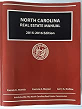 North Carolina Real Estate Manual 2015-2016 Edition