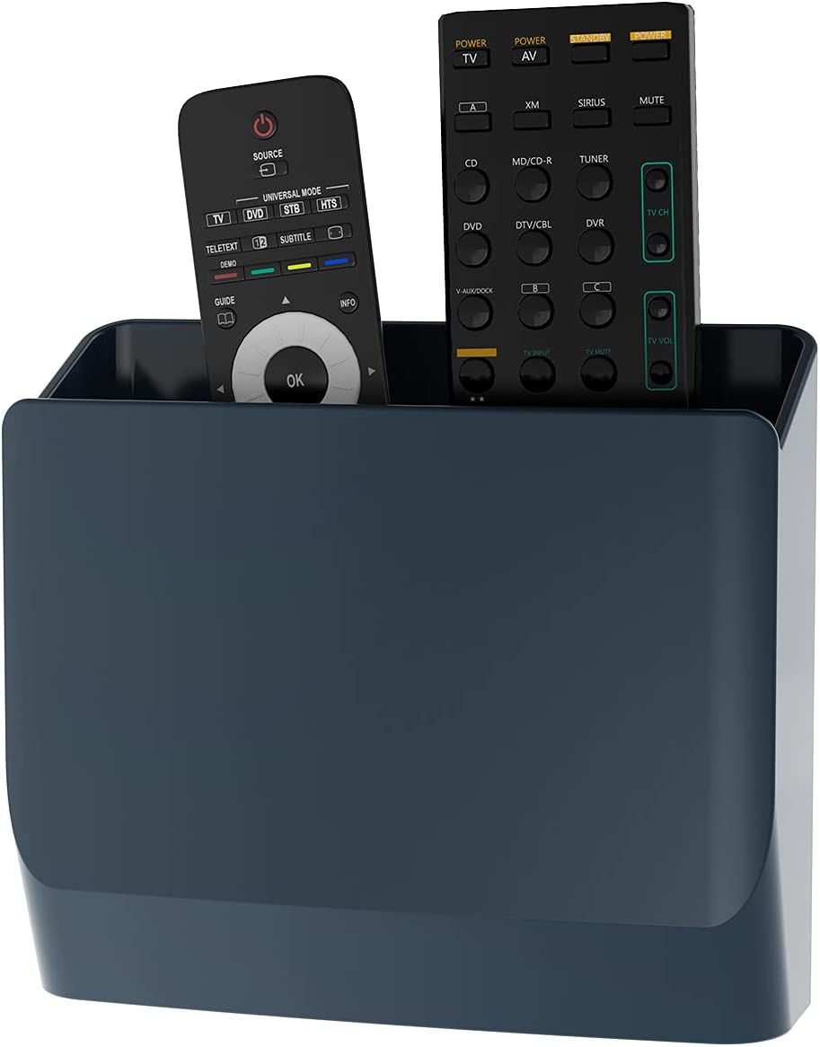 WALI Universal Remote Holder 5 Storage Hole-Free Organizer New arrival Inch Popular products