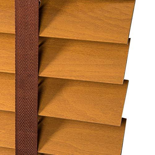 Xiao Jian- Elm houten jaloezieën verduisterende rolgordijn lift gordijn keuken woonkamer studie slaapkamer 3 kleur multi-size optioneel aangepast gordijn