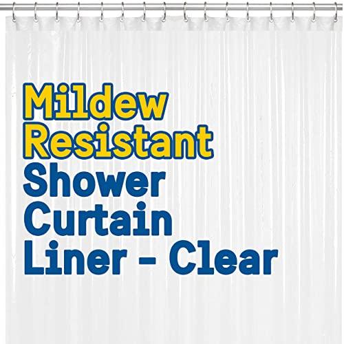 BigFoot Shower Curtain Liner – 72 x 72 PEVA Heavy...