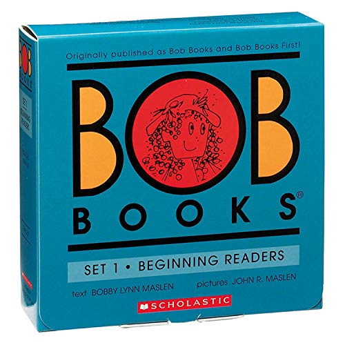scholastic book sets Scholastic SB-0439845009 Trade Bob Books Beginning Readers Book, Set 1 (Pack of 12)