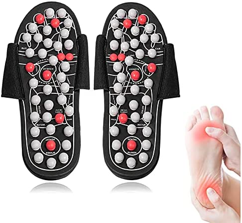 Acupressure Max 71% Opening large release sale OFF Massage Slippers Foot Massager for Wome