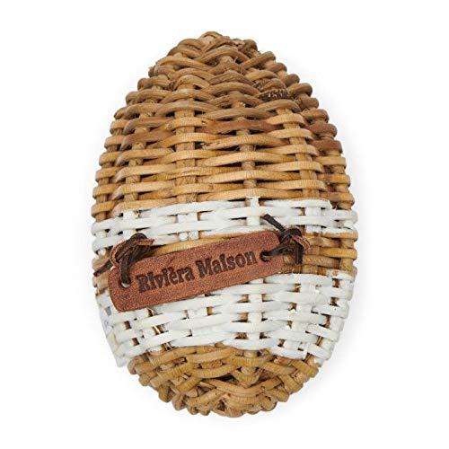 Riviera Maison Rustic Rattan Easter Egg Stripe