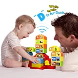 Talking ABC Blocks Alphabet Learning - Plastic Blocks with Audio. For 2 Years