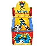 Henbrandt 108 x Mini Puzzles de Fútbol de 25 Piezas - Mayorista a Granel Compra