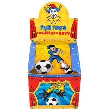 Henbrandt 108 x Football 25 Pièces Mini Puzzles - Vente en Gros Achat en Gros