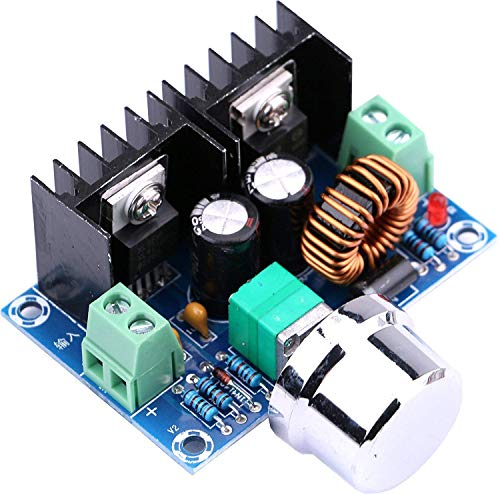WINGONEER XL4016E1 DC 4-40V bis DC 1.25-36V 8A Buck Converter Spannungsregler 36V 24V 12V bis 5V High Power Efficiency Step Down Converter Netzteil