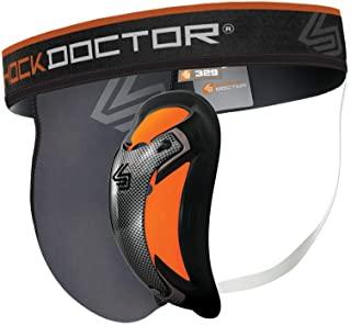 ShockDoctor ochraniacz wgłębny dla mężczyzn z Ultra Carbon Flex Cup – zaprojektowany do sportów walki: boksu, karate, taek...
