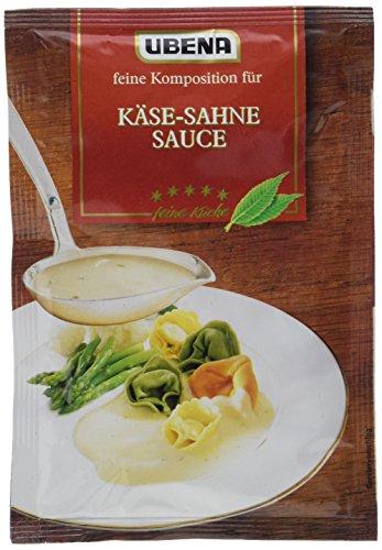 Ubena Käse-Sahne Sauce, 6er Pack (6 x 35 g)