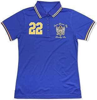 Big Boy Headgear Sigma Gamma Rho Ladies Football Jersey Blue