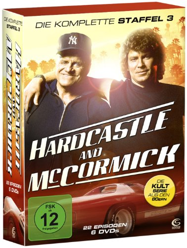 Hardcastle and McCormick - Die dritte und finale Staffel (6 DVDs im Digipack)