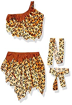 Secret Wishes Womens Tarzan Jungle Jane Costume Leopard Medium
