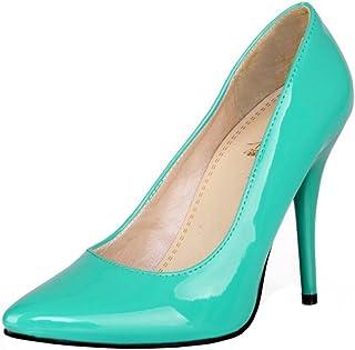 TAOFFEN Women Pointed Toe Pumps Heels Shoes
