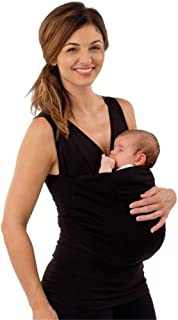 Peony Red New Summer Kangaroo Baby Carrier Clothes for Mother Sleeveless Big Pockets Tank Top
