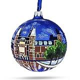 BestPysanky Rijksmuseum, Amsterdam, Netherlands Glass Ball Christmas Ornament 4 Inches