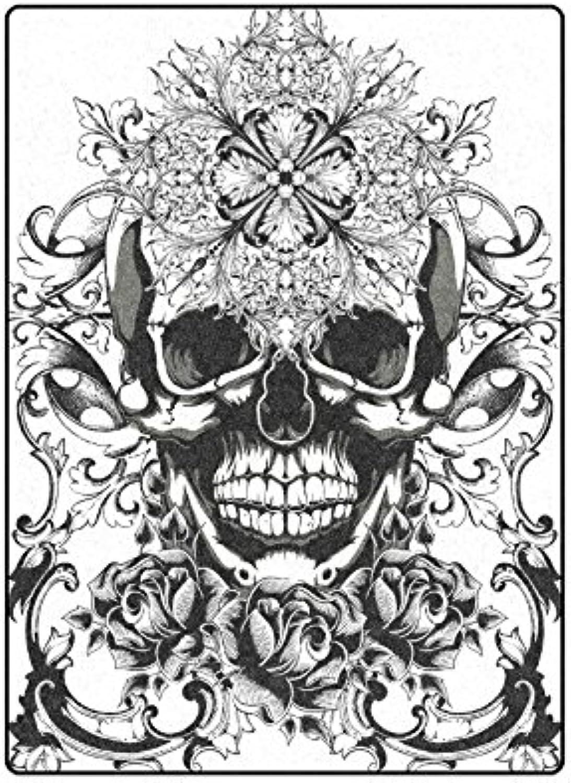 AnnHomeArt skull Fleece Throw Blanket for Bed Sofa 58''x80''