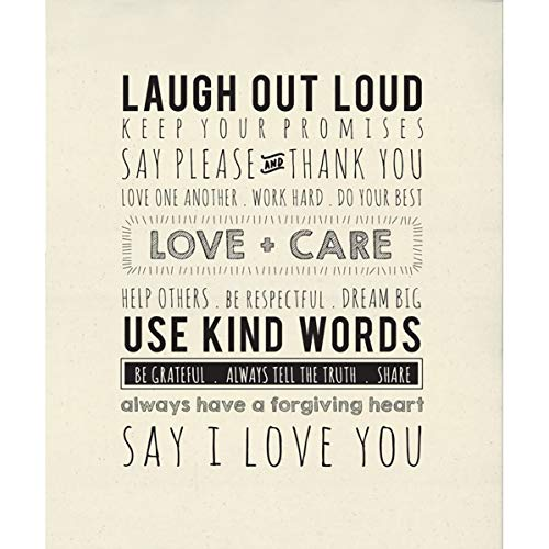 Sweetwater Printworks Panels Use Kind Words 1 54-inch by 65-inch Panel Moda Fabrics 5761 11P