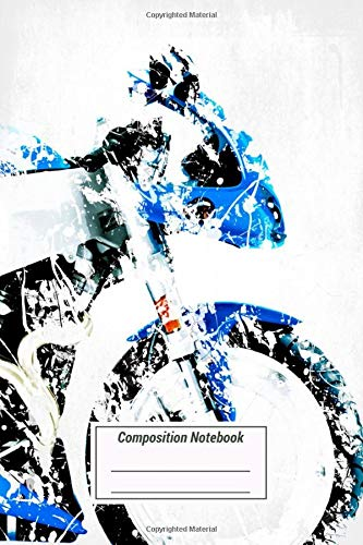 Composition Notebook: My Motorbike Series Artwork Based On The Buell Xb9r Fi Over 100 Pages for Writing