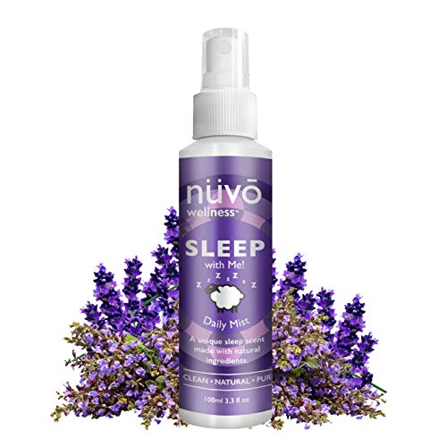Premium Pillow Spray Made with Therapeutic Essential Oils - Deep Sleep Pillow Spray Mist with Lavender and Chamomile - Natural Sleep Aid - Sleep Spray for Pillows - 3.3oz Travel Size (Sleep)