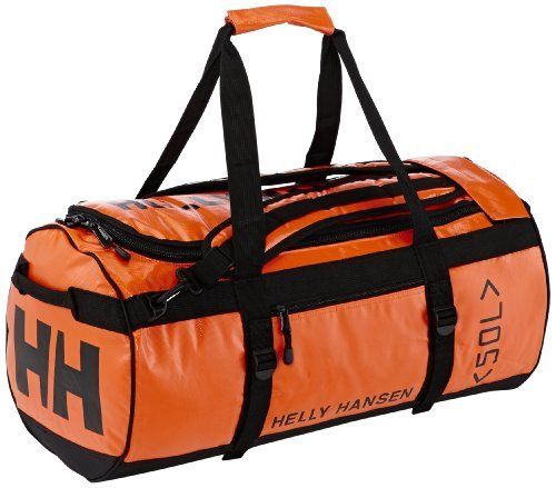Helly Hansen HH DUFFEL Borsa Uomo - Arancione (Spray orange) - 90 Litri