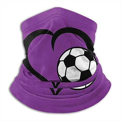 Archiba Love Football Nackenschutz Shield Schal Bandana Balaclava Windproof Face Mask für Outdoorsportarten
