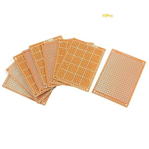10X Lochrasterplatte Leiterplatte Streifenraster Platine PCB Board 5x7cm