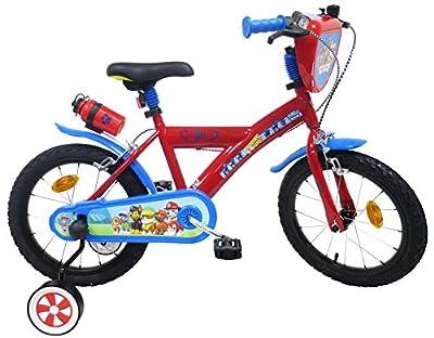 Paw Patrol - Bicicleta Infantil de 16 Pulgadas, Multicolor por Eden Bikes