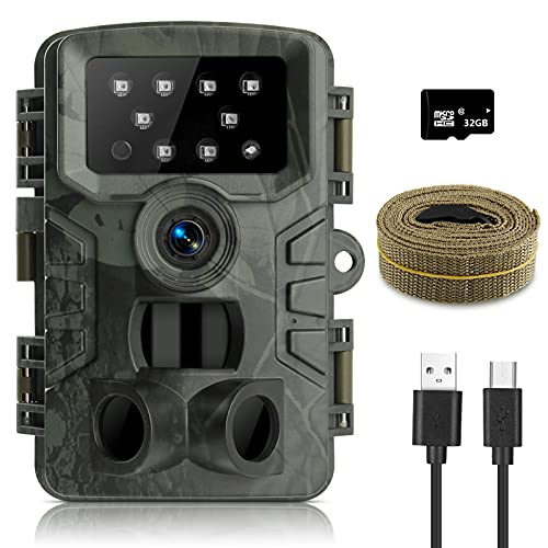 innislink Caméra de chasse 1080P 20MP avec vision...