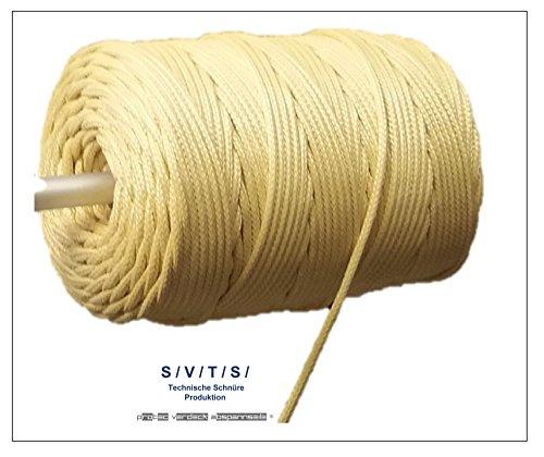 ProTec Abspannseile Aramidseil Kevlar Rope Antriebsseil 400daN dm 3,0mm 25m