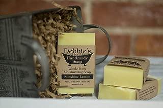 Debbie's Handmade Soap Sunshine Lemon (4 bars)