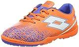 Lotto LZG VIII 700 TF Jr, Botas de fútbol Unisex niños, Naranja/Blanco (Fant FL/Wht), 38 EU