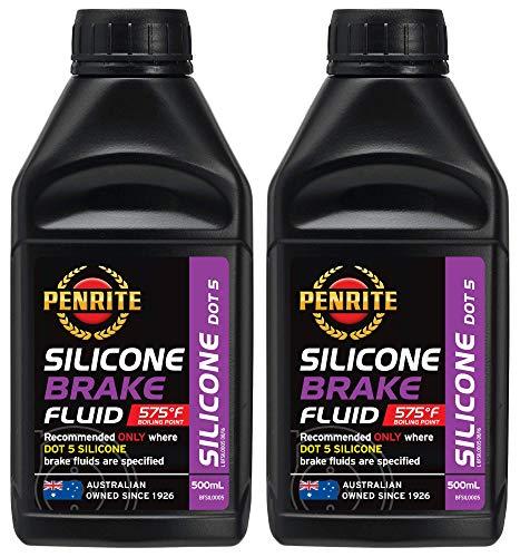 Penrite Öl Silikon Bremsflüssigkeit DOT 5, Trockenkochpunkt 302 Grad, 1 Liter