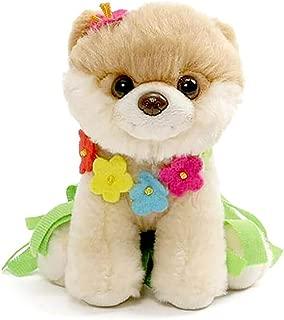 GUND Itty Bitty Boo Hula Plush Stuffed Dog, 5