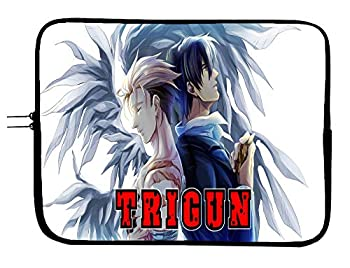 Trigun Anime Laptop Sleeve Case 11 Inch Tablet & Computer Case - Protect Your Device with This Anime Bag - Made to Fit 11 Inch Tablet/Laptop of Most Brands