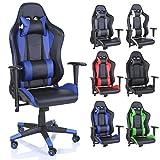 TRESKO Racing Drehstuhl Bürostuhl Sportsitz Chefsessel Gaming Stuhl 6 Farbvarianten