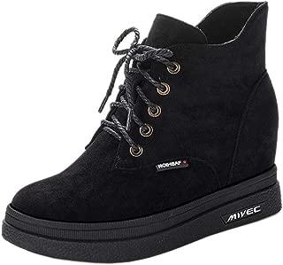 RAZAMAZAWomen Vintage Wedge Heels Boots