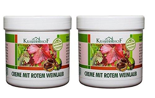 Kräuterhof Crema con hojas de vid roja 2 x 250ml