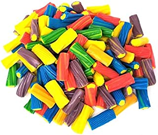 CrazyOutlet Pack - Fini Jumbo Colors Filled Bites Candy, Licorice Flavor Assortment, Rainbow Color Fresh and Chewy Candy, Bulk Pack, 2 Lbs