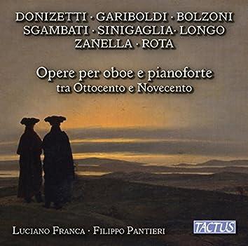Opere per oboe e pianoforte tra ottocento e novecento