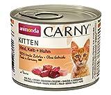 Animonda Katzenfutter Carny Kitten Rind, Kalb + Huhn