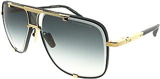 DITA - Gafas de Sol MACH-FIVE Matte Black Yellow Gold/Dark Grey Shaded 64/14/127 hombre