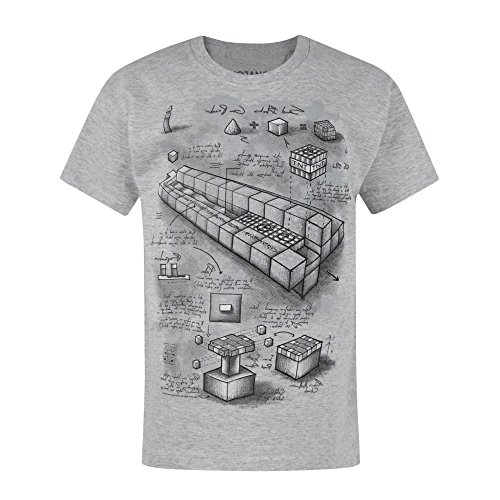 Jungen - Minecraft - Minecraft - T-Shirt (5-6 Jahre)