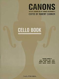 Canons: Cello Book